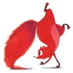 Eekhoorn van de Supervrienden-serie (illustratie: Noelle Smit)