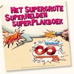 Het Supergrote Superhelden Superplakboek