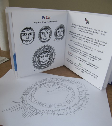 tekening en binnenwerk Snoep voor je ogen