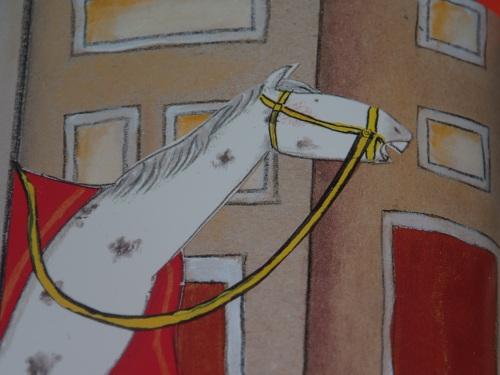 Detail uit illustratie uit Klaas, de per ongeluk Sinterklaas (Sabine Wisman & Paula Gerritsen)