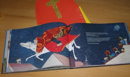 Illustratie uit Klaas, de per ongeluk Sinterklaas (Sabine Wisman & Paula Gerritsen)