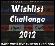 Wishlist Challenge 2012