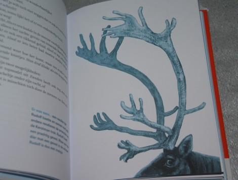 rendier uit Winterdieren (Bibi Dumon Tak & Martijn van der Linden)