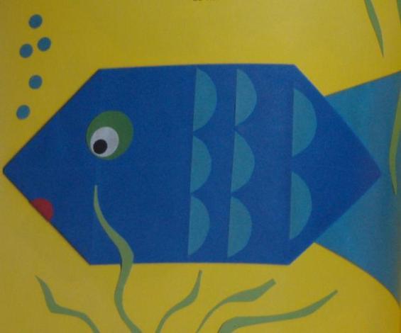 vouw een vis