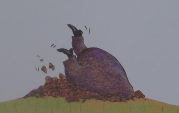 mol onder de grond (uit: Over een kleine mol die wil weten...)
