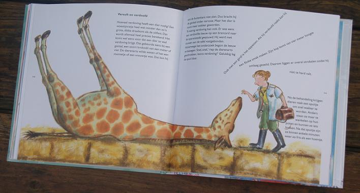 Giraf uit IJsberen en andere draaikonten (Ditte Merle & Alex de Wolf)