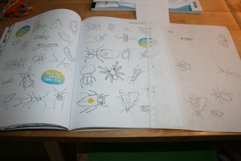 insecten uit WoeDoeBoek (Groter Groeien)