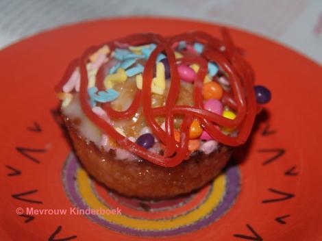 Cake met dropveters