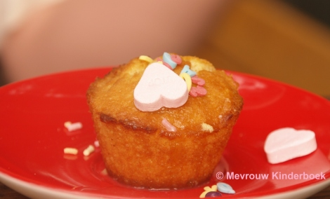 Cake met hartjes