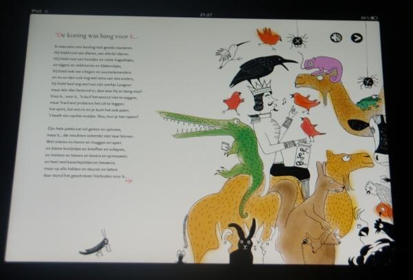 Fabulous Een app met koninklijke gedichten: De koning gaat verhuizen (Annie &NO61