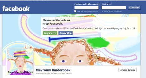 Mevrouw Kinderboek op facebook