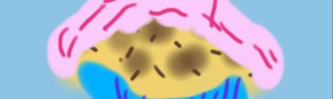 taart met glazuur