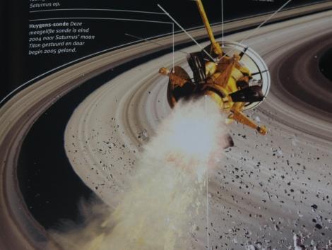 Saturnus uit Insiders ruimte
