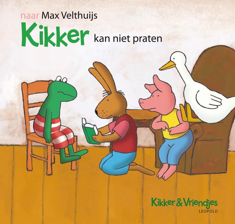 Gesloten Winactie Win Het Prentenboek Kikker Kan Niet