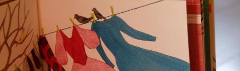 jurken uit Nog 100 nachtjes slapen (Milja Praagman), het Prentenboek van het Jaar 2013