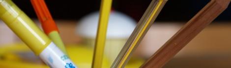 met geel tekenen nav De gele olifant van Loes Riphagen