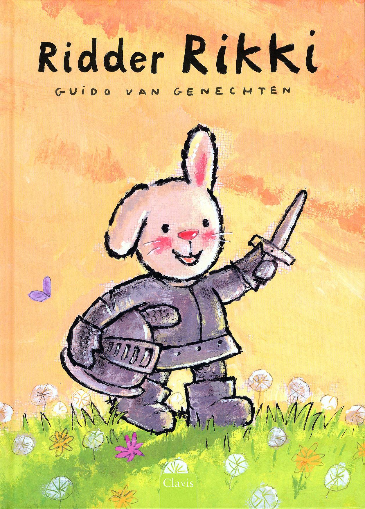 Ridder Rikki Guido Van Genechten Mevrouw Kinderboek
