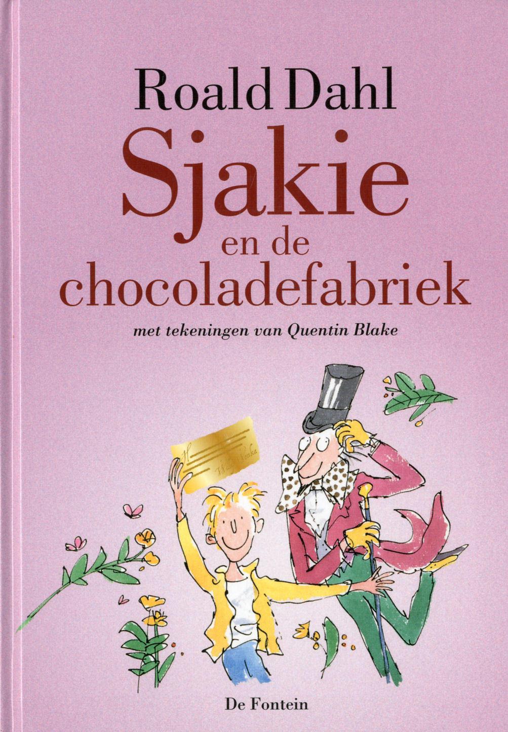 sjakie en de chocoladefabriek roald dahl book covers