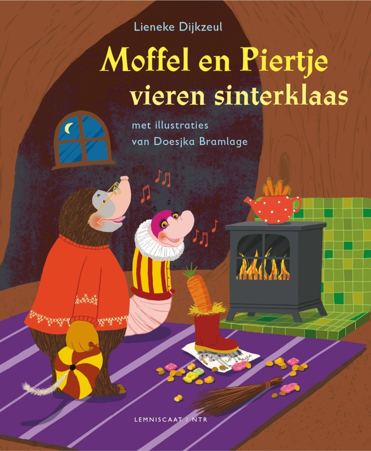 Moffel en Piertje vieren sinterklaas kerst