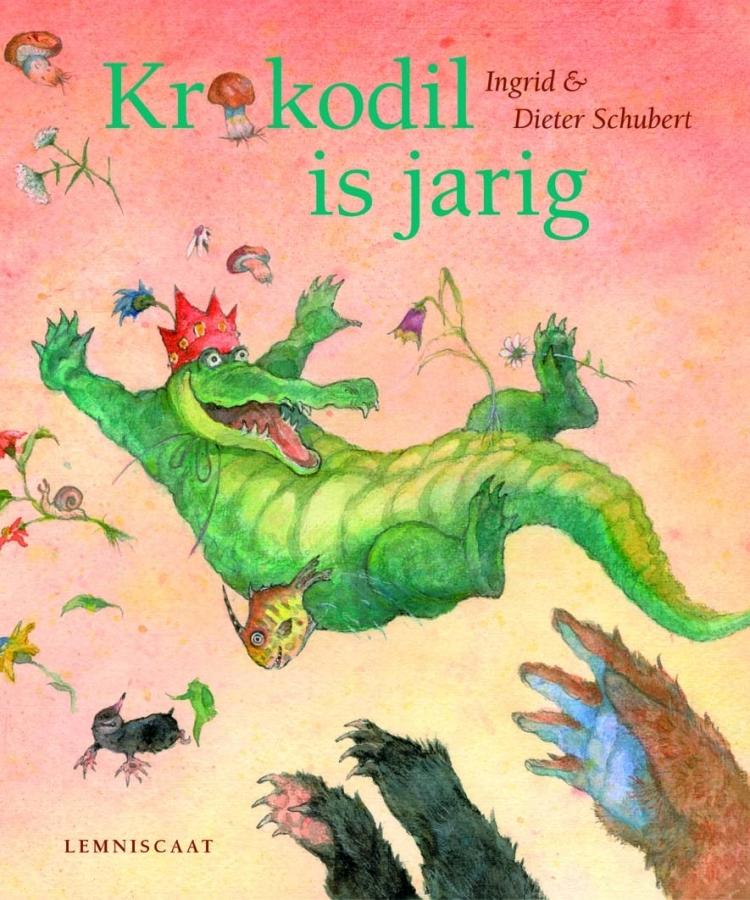 Krokodil is jarig Schubert
