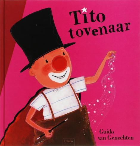 Tito tovenaar cover Guido van Genechten
